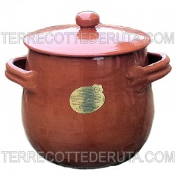 Terracotta Pot with Lid