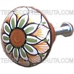 Knob Ceramic Deruta Various 06