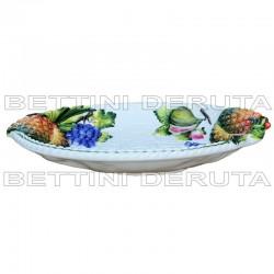 ceramic tray pinapple grapes