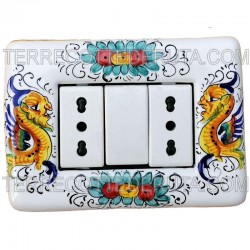 ceramic switch cover Raphaelesque