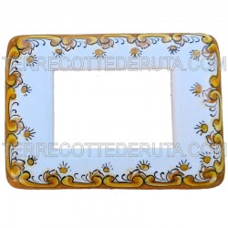 Ceramic switch cover Frame Deruta