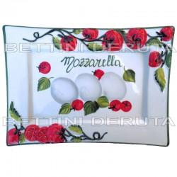 Mozzarella Rectangular tray