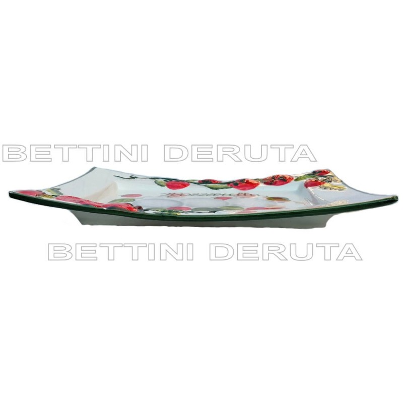 Boccia Terracotta 2 Ricci Bucati Cm. 20