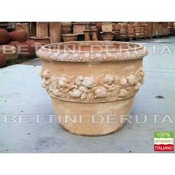 Bolo Ceramica Arabesco Verde Cm. 20