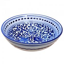 Bowl Blue Arabesque