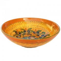Green Olives Ceramic Bowl