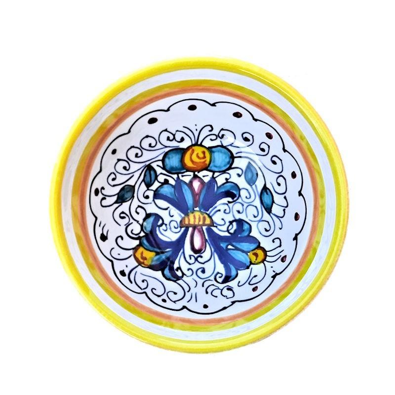 Bottiglia Olio o  Aceto Ricco Deruta Blu Cm. 23