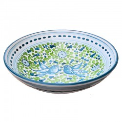 Bowl Green Arabesque