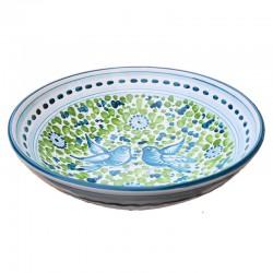 Bowl Green Arabesque