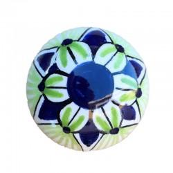 Pomello in ceramica maiolica Deruta dipinto a mano Vario 03