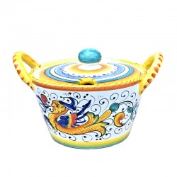 Deruta majolica cheese bowl...