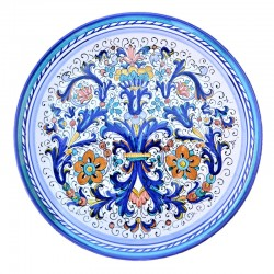 Classic Rich Deruta Blue Plate