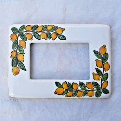 Ceramic switch cover Lemons