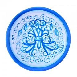 Small majolica plate Deruta...