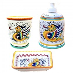 Ceramic bathroom set...