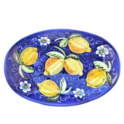 Oval Bread Tray Deruta...