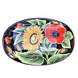 Vassoio portapane ceramica...