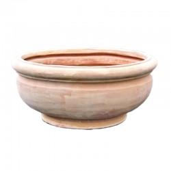 Smooth big bowl terracotta...