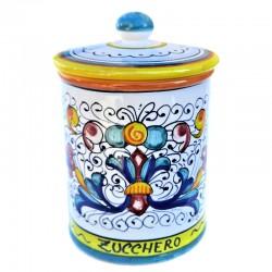 Deruta majolica kitchen jar...