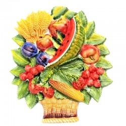 Cesto frutta anguria...
