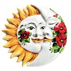 Eclissi ceramica Sole e...