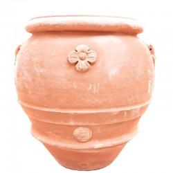 Big terracotta jar with...