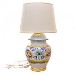 Lampada ceramica maiolica...