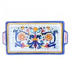 Rectangular Deruta ceramic...