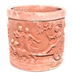 Cylindrical vase in...