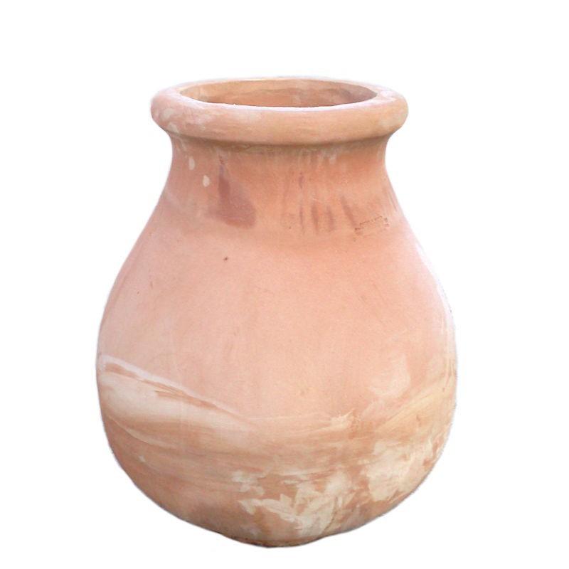 Anfora olla Romana terracotta lavorata a mano