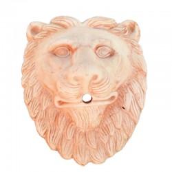 Maschera leone in Terracotta