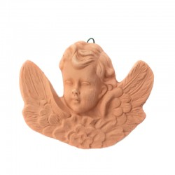 Angel terracotta with cloud...
