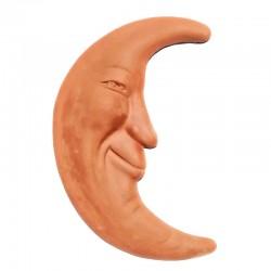 Terracotta moon to hang Cm. 35