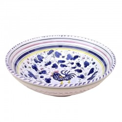 Bowl Blue Rooster Orvieto