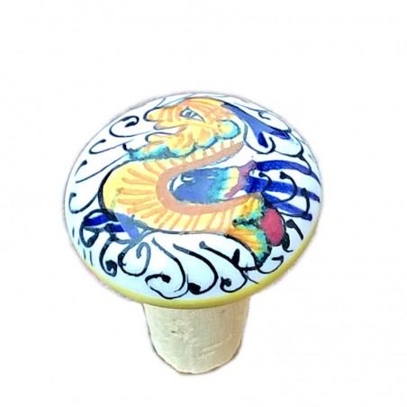 Tappo Ceramica Deruta Raffaellesco