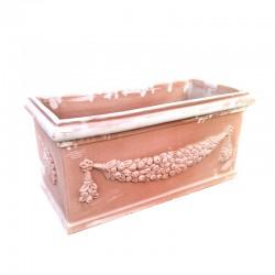 Rectangular terracotta box...