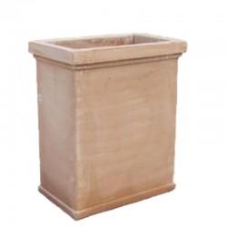 Smooth rectangular high box...