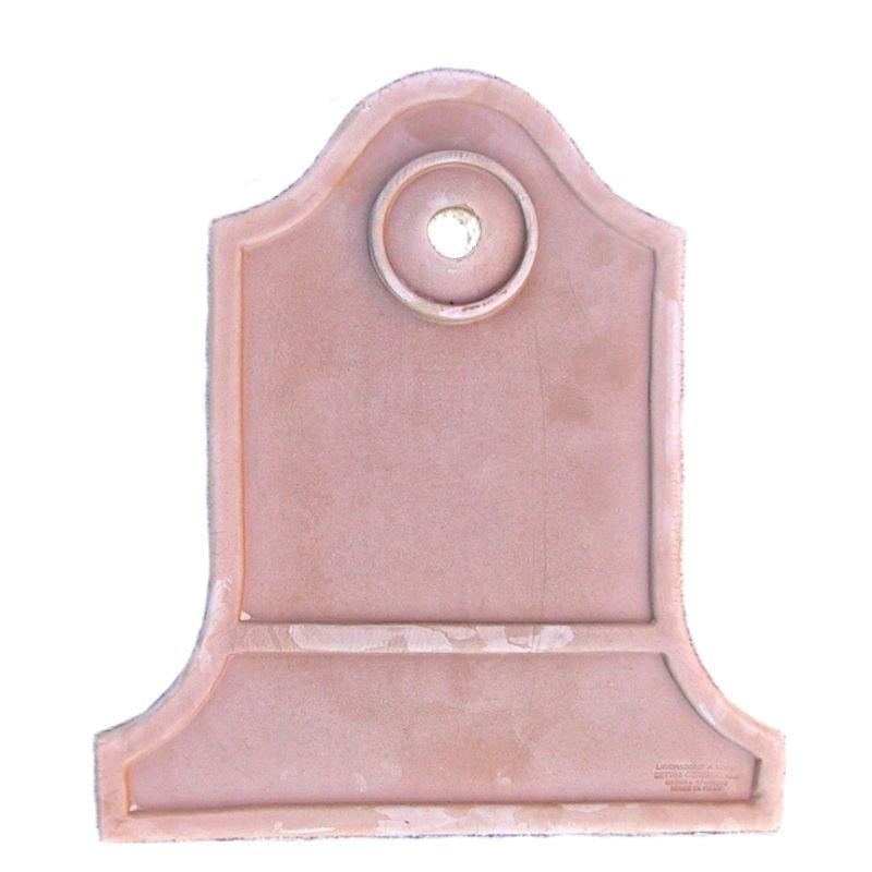 Pannello Fontana terravotta da Parete Liscio