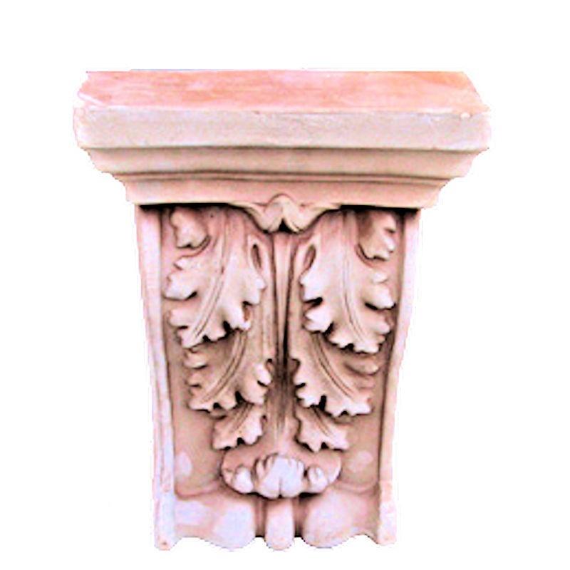 Capitello Reggi mensola in Terracotta
