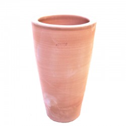 Tall smooth cone vase...