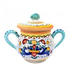 Sugar bowl with handles...