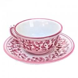 Tazza Te ceramica maiolica...