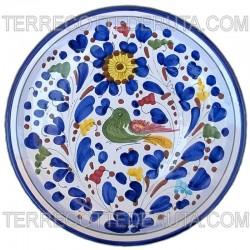 Colored Arabesque Plate